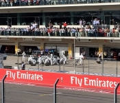 Formula One Pit Stop at US Grand Prix performed in <2.5s